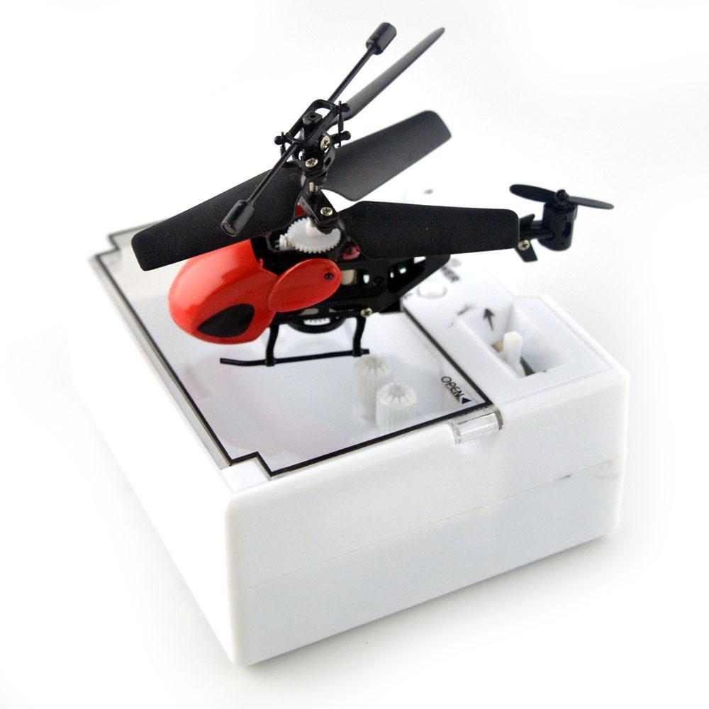 Máy Bay Mini điều khiển 3.5 kênh QS5010 màu đỏ