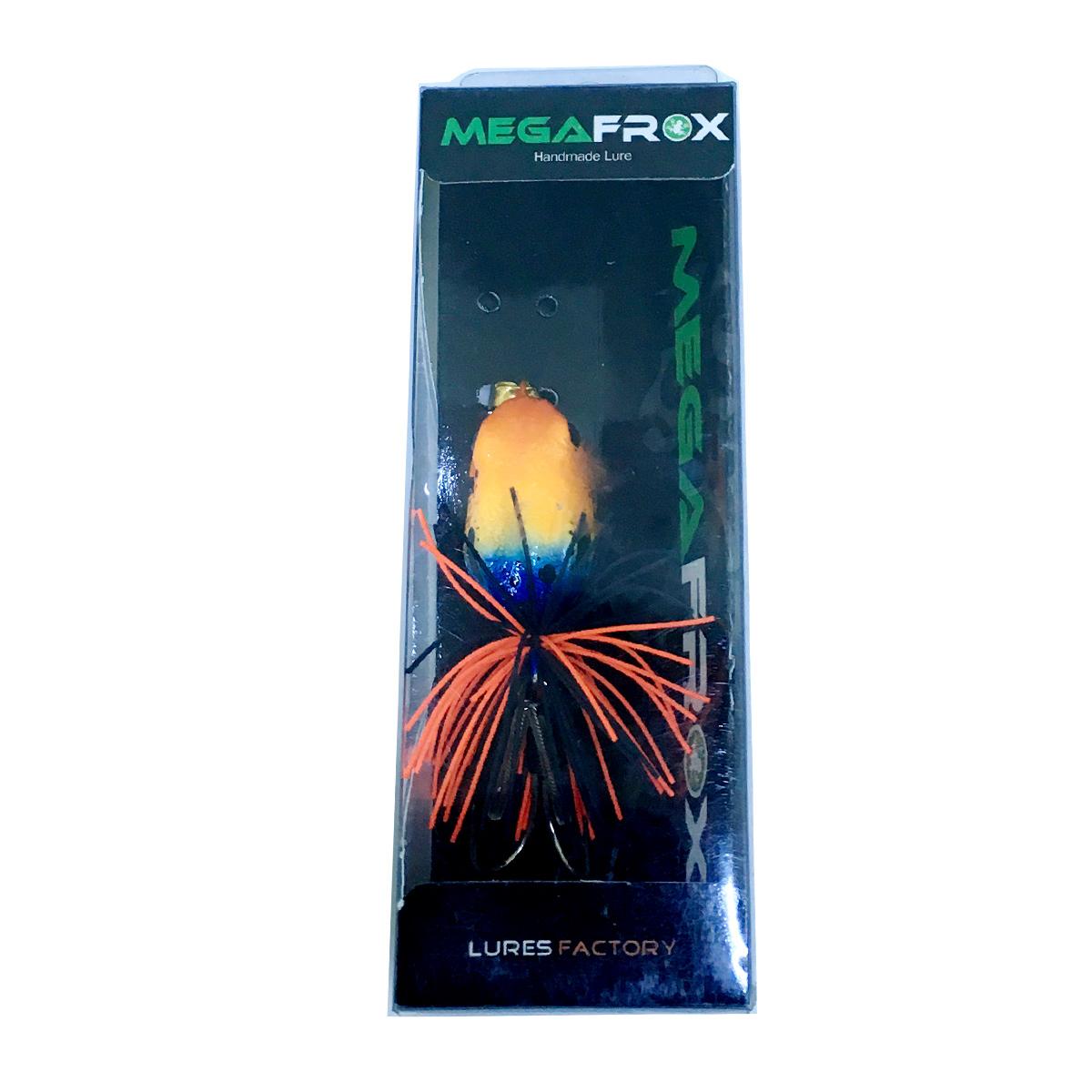 Mồi Câu Ếch Giả Thái Lan Megafrox Poision Frog Cam Đen