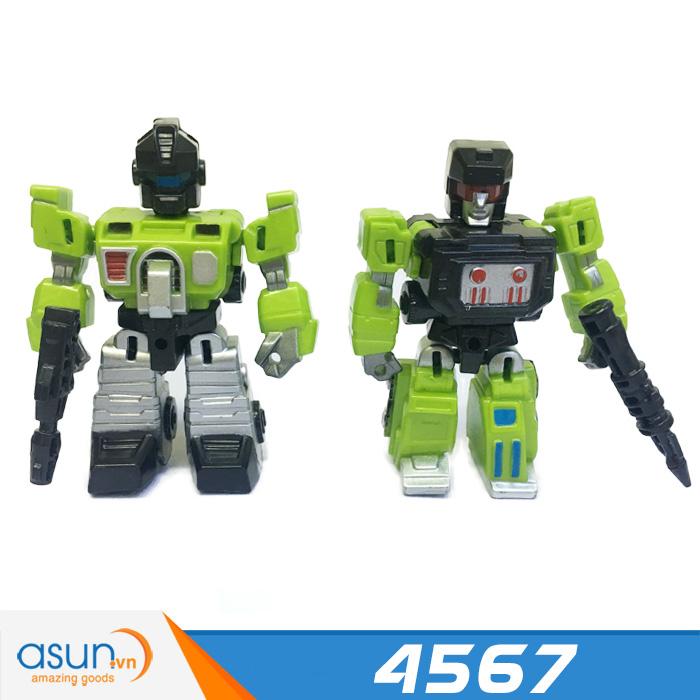 Robot Biến Hình Transformer Nhiều Kiểu 4567