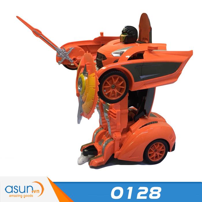 Xe Điều Khiển Robot Biến Hình Transformer 0128