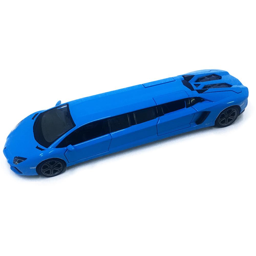 Siêu Xe Lamborghini Chạy Dây Cót Bằng Sắt 6801L Đóng Mở Cửa Có Đèn Nhạc