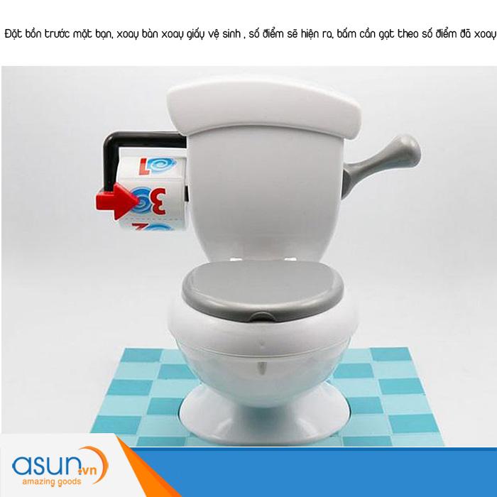 Trờ Chơi Thử Thách Toilet Phun Nước Toilet Trouble Challenge 4402