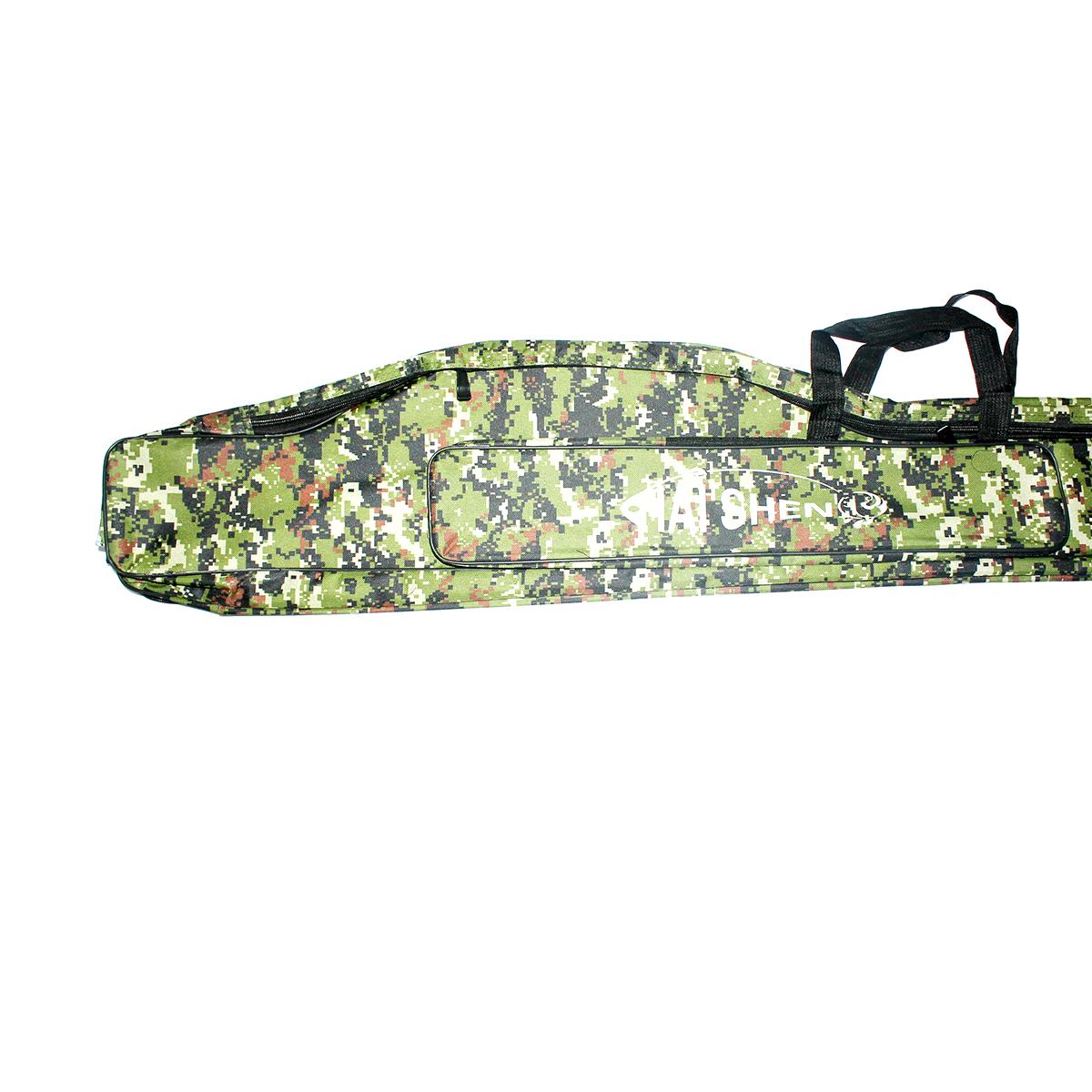 Túi Vải Đựng Cần Hai Ngăn Rằn Ri Hai Shen 1m50