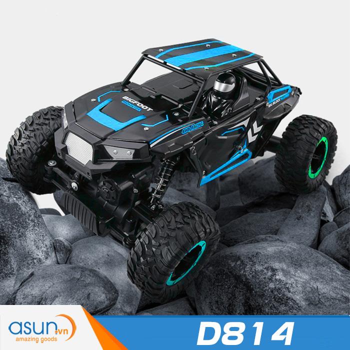 Xe  Điều Khiển Địa Hình Rock Crawler JJRC D814 4WD Rally Car Vỏ Kim Loại