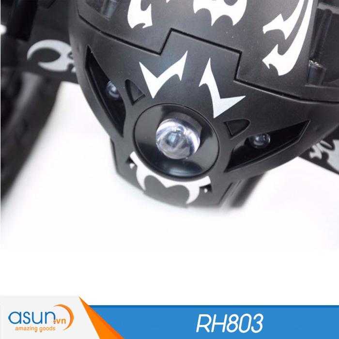Xe Điều Khiển Từ Xa Nhún Nhảy RH803 Đen Vượt Địa Hình Bounce Car 2.4Ghz