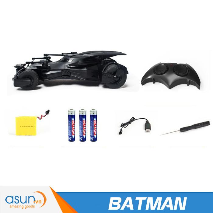 Xe Điều Khiển Từ Xa Batmobile của Người Dơi Batman