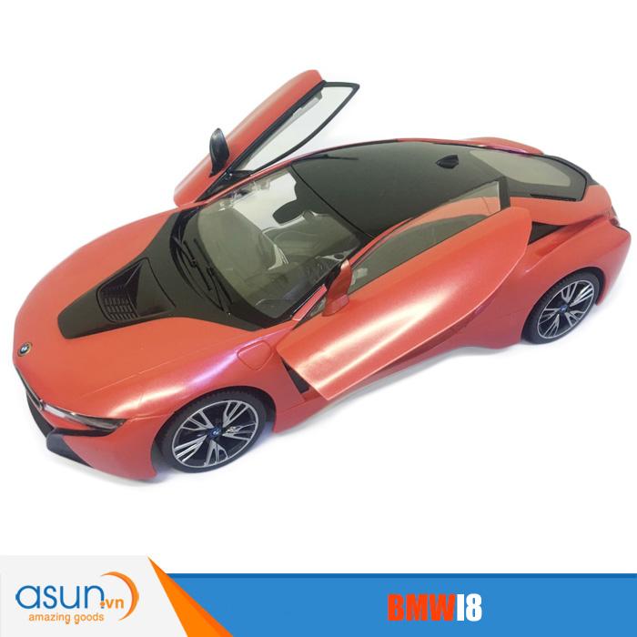 Xe Điều Khiển Từ Xa BMW I8  71060 Rastar Đỏ - Hot