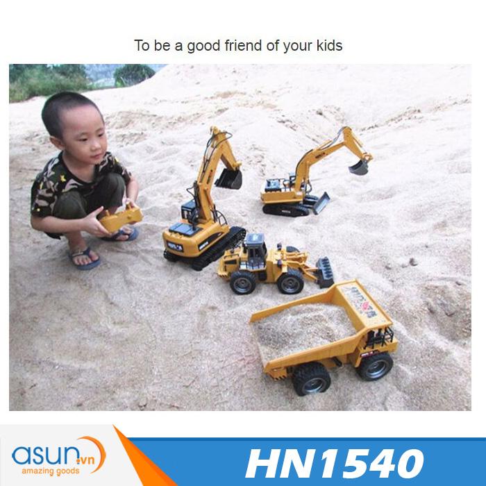 Xe Ben Điều Khiển Bằng Sắt Huina Toys 540 HN1540 2.4Ghz