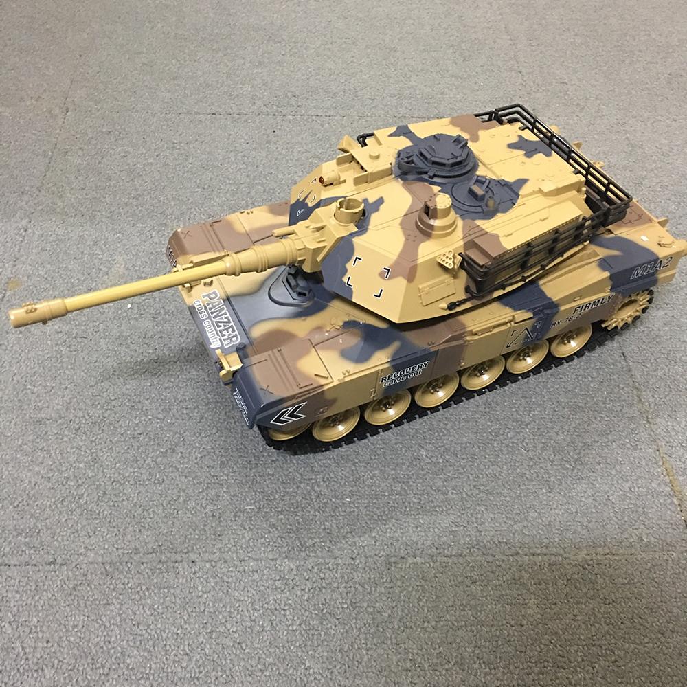 Xe Tank Điều Khiển Từ Xa Bắn Đạn và Có Khói 2.4Ghz M1A2 Mã 789-1 1:18