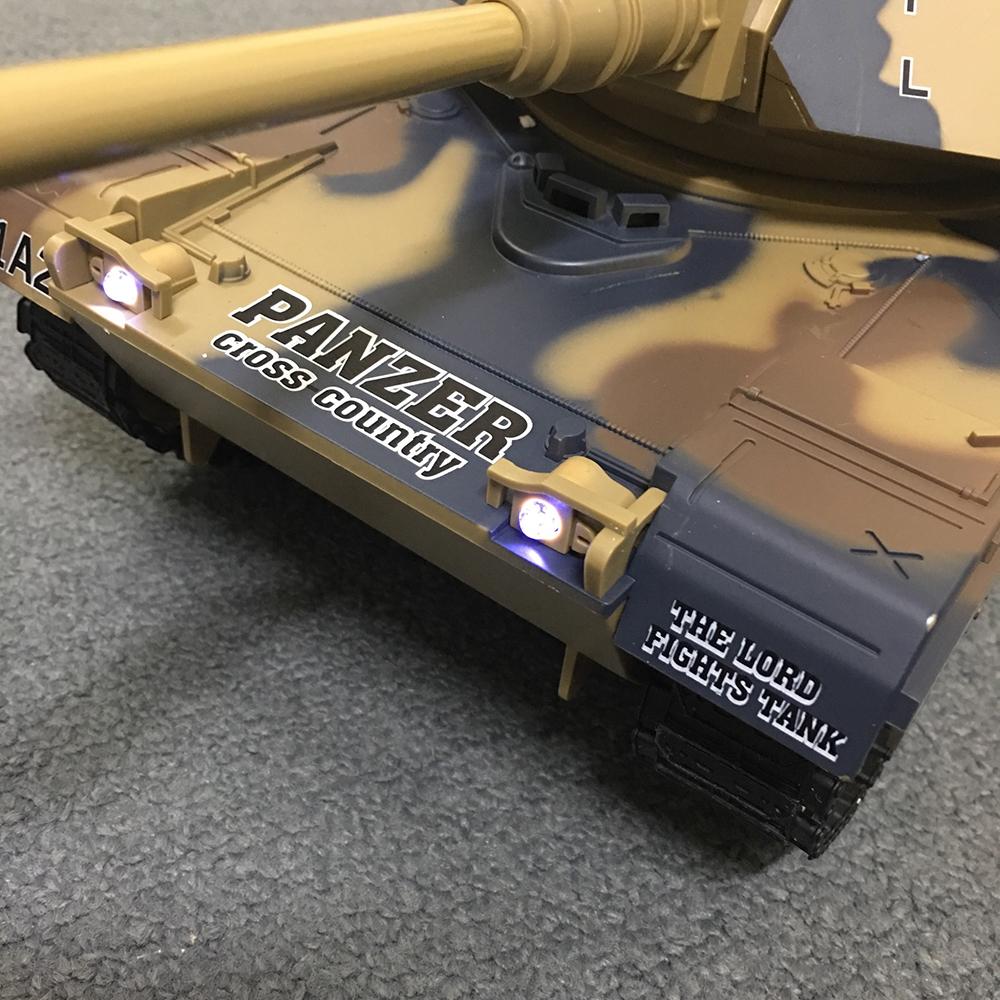 Xe Tank Điều Khiển Từ Xa Bắn Đạn và Có Khói 2.4Ghz M1A2 Mã 789-1