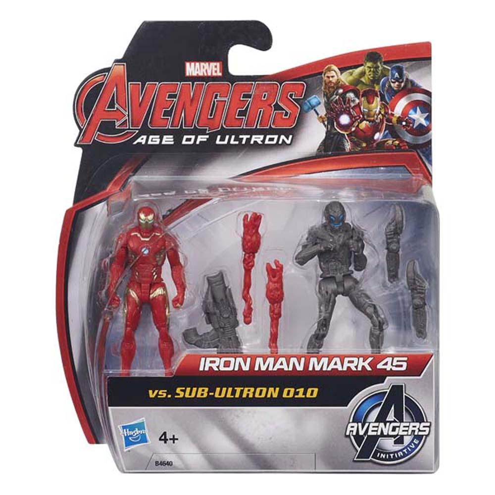 Iron Man Mark 45 Và Sub Ultron 010- AVENGERS B4640-B0423