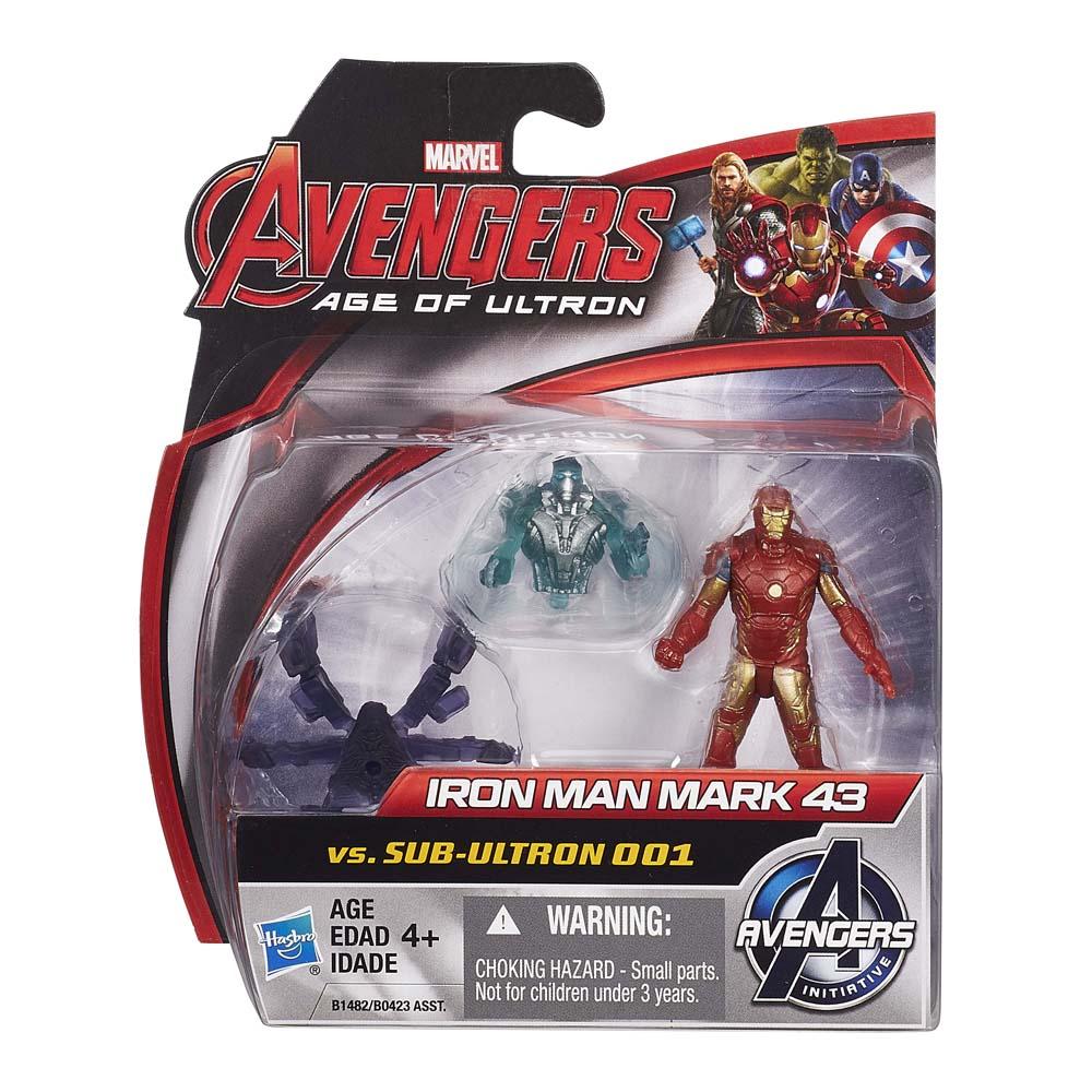 Mô Hình Iron Man Mark 43 Và Sub Ultron 001 AVENGERS B1482