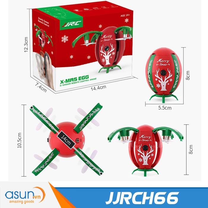 Máy Bay Điều Khiển Từ Xa JJRC H66 X-mas Egg Wifi Camera
