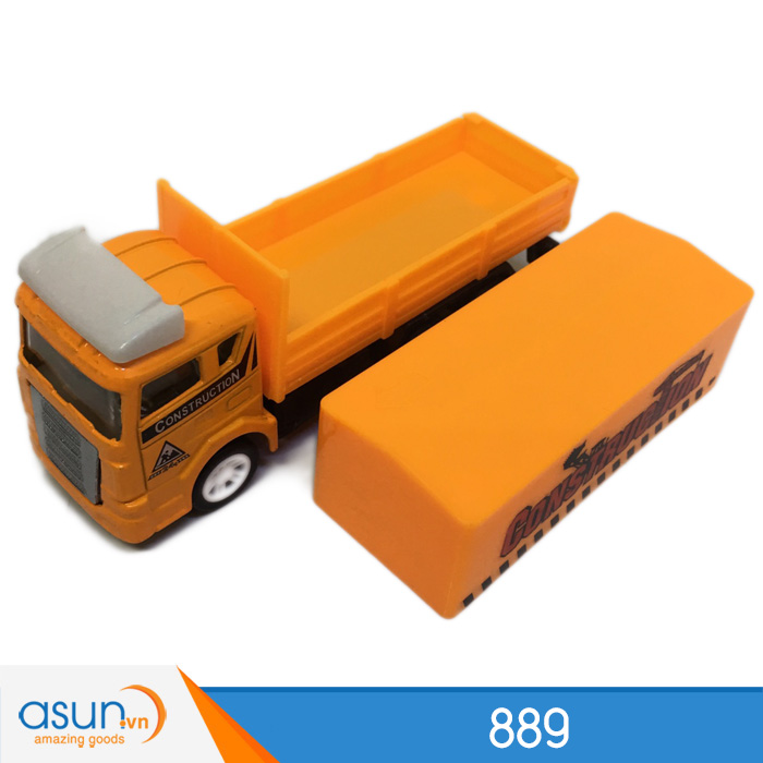 Xe Container Công Trình Đẩy Trớn Đầu Xe Bằng Sắt 889 11cm