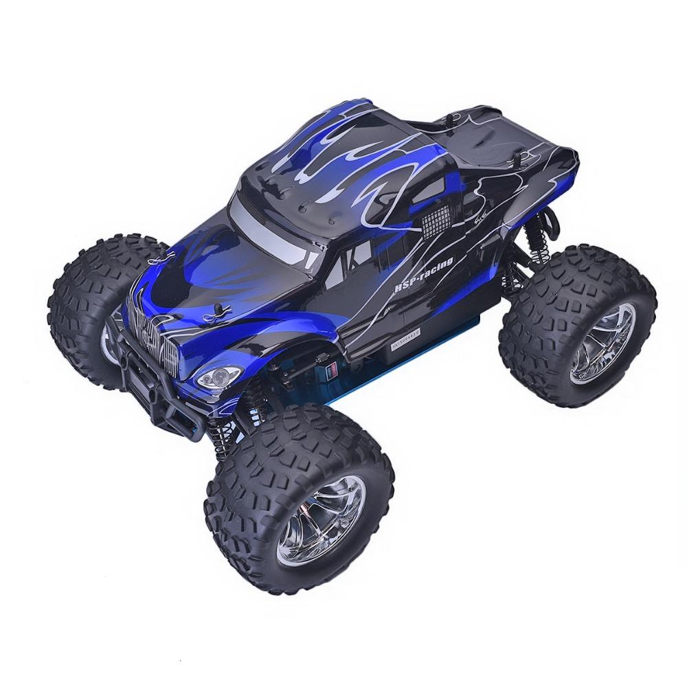 Combo Xe Xăng Nitro Điều Khiển HSP 1:10 94188 Off Road Monster Truck 4WD